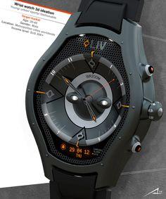 LIV - Watch by Alp Germaner » Yanko Design
