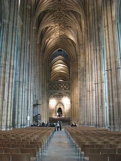 Canterbury Cathedral - this is where I had my university graduation ceremony in 2009