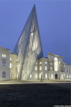 The Dresden Museum of Military History's Extension by Studio Daniel Libeskind (SDL)