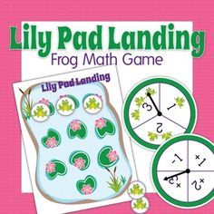 Lily Pad Landing: Frog Math Game for Preschool and Early C