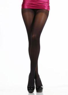 Pierre Cardin Külotlu Çorap / Mikrofiber / Mat / Siyah