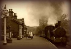 Oakworth Railway Station - The Railway Children