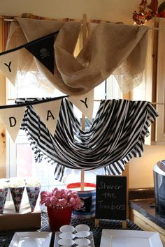 a pirate birthday party...or baby shower HINT HINT