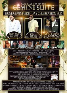 The Gemini Suite Daytime Affair @ Suite 36 Saturday May 31, 2014 « Bomb Parties – Club Events and Parties – NYC Nightlife Promotions