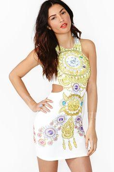 Diamond crusher dress
