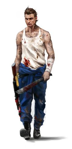 Far Cry 3 - coop character Mikhail