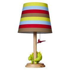 Jill McDonald Adorable Dino Nursery Lamp casacom Great Ideas