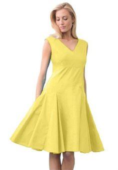 Amazon.com: Jessica London Women\'s Plus Size Ruffle And Pleat ...