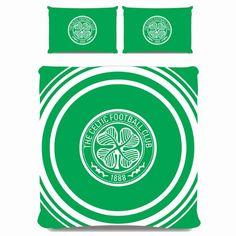 Celtic FC – Pulse – Double Duvet Cover Set – Reversible – Characterlinens