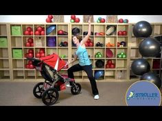 Stroller Strides: Oblique Reach