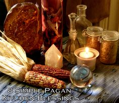 8 Simple Pagan Kitchen Blessings