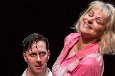 Gillian Bevan as Mrs Lovett and David Birrell as Sweeney Todd Royal Exchange Manchester 2013