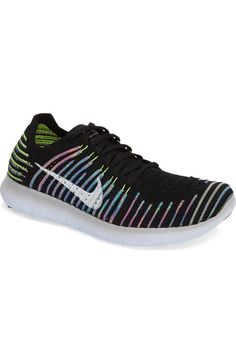 size 7 Nike 'Free Flyknit' Running Shoe (Women) available at #Nordstrom