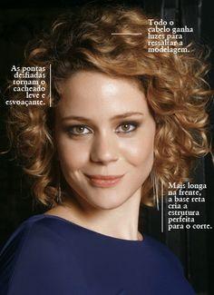 """Leandra Leal e seu cabelo maravilhoso para encarnar a personagem no filme """"Mato sem Cachorro""""."""