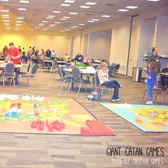 Giant Settlers of Catan!