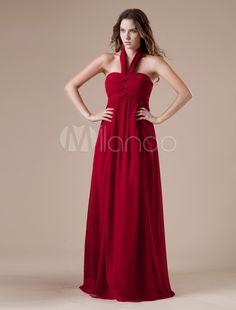 #Milanoo.com Ltd          #Evening Dresses          #Claret #A-line #Halter #Chiffon #Floor-length #Evening #Dress                Claret A-line Halter Chiffon Floor-length Evening Dress                                                 http://www.snaproduct.com/product.aspx?PID=5694826