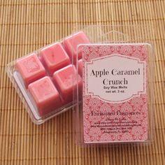 Apple Caramel Crunch Soy Wax Melts  Handmade Soy Wax Melts