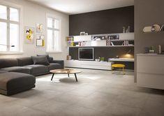 Einzigartige Gestaltung: 19 Ideen Für Fliesen Im Wohnzimmer
