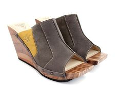 God I love their wooden shoes! Fluevog! $199