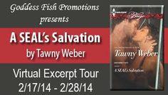 Erotic Author Nancy Adams: A SEAL's Salvation - Virtual Book Tour & GIVEAWAY