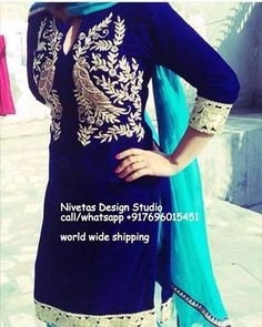 You ll get all type  customize service for all type of boutique suit with High quality fabric and embroidery For purchase enquiry email at nivetasfashion@gmail.com #punjabi #patiala #salwar #suit #boutique #dupatta #india #punjabi #fashion #party #wear #suits #boutique #suits #boutique #suits #boutique
