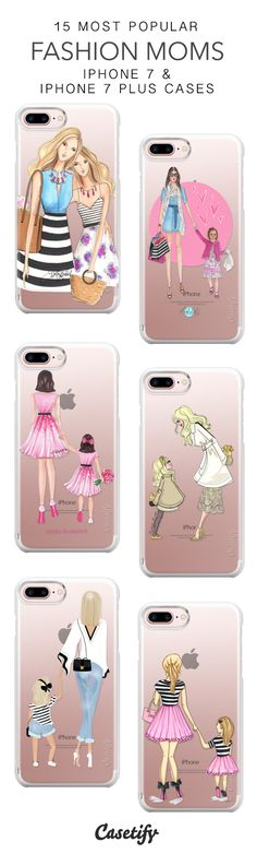 15 Most Popular Fashion Moms iPhone 7 Cases and iPhone 7 Plus Cases. More Mother's Day iPhone case here > https://www.casetify.com/collections/top_100_designs#/?vc=TyWS44eMlm