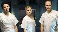 """Silent Witness"" - Left to right - Tom Ward, Amanda Burton andWilliam Gaminara"