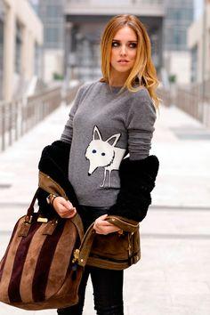 Chompa - Sweater http://fashionbloggers.pe/natalie-natal/la-nueva-prenda-it-de-otono-invierno-las-chompas