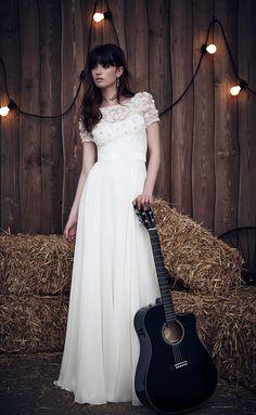 Si se casara de nuevo, sería de Jenny Packham.