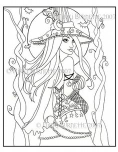 Gothic Coloring Pages | gothic fairy coloring pages - group picture, image by tag ...