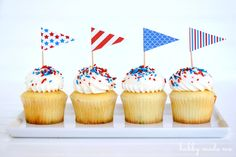 Stars N Stripes Party Set Printables From Life-n-Reflection