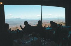 Diners enjoy the view with their lunch in the main dining hall at Mohonk Mountain House. (Daily Freeman photo by Tania Barricklo)
