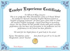 certificate of experience Job experience certificate format << Homework Academic Writing Service Certificate Format, Certificate Of Recognition Template, Certificate Design, Certificate Templates, Words Of Appreciation, Certificate Of Appreciation, Letter Writing Format, English Language Classes, High School Transcript