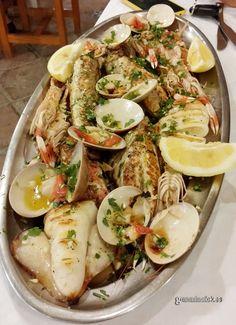 Parrillada de pescado de Motril en Restaurante Katena