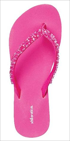pink flip flops...need these