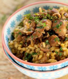 Recipe: Spelt Risotto with Mushrooms, Cheese and Fresh Thyme/Eat Well 101