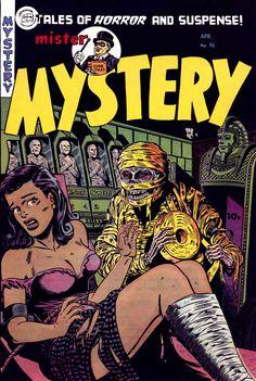 Comic Book Cover For Mister Mystery v1 #16