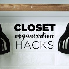 Trendy Organization Ideas For The Home Life Hacks Storage Organisation Organisation Hacks, Organizing Hacks, Hacks Diy, Home Hacks, Diy Organization, Cleaning Hacks, Cleaning Closet, Apartment Closet Organization, Clothing Organization
