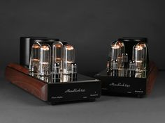 Mastersound Tube Amplifiers from Italy