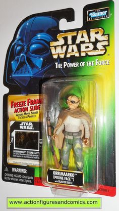 star wars action figures ORRIMAARKO PRUNE FACE 1998 power of the force hasbro toys moc mip mib