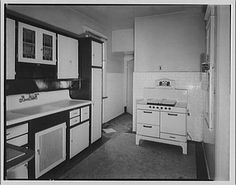 1920s/1930s kitchen from Library of Congress by whitewall buick