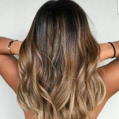 Balayage ombre hair blond dore coiffure pinterest cheveux ombr s cheveux et coiffures - Balayage marron glace ...