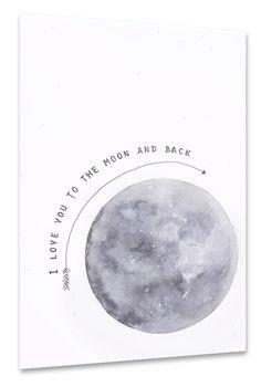 Moon als Poster bei artboxONE kaufen