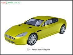 3D Vehicle: Aston Martin Rapide 2011 Autocad, Aston Martin Rapide, 3d Mesh, Cad Blocks, Vehicles, Truck, Cars, Trucks, Autos