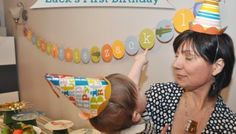 My Son's First Birthday: The Making of a Jungle Party Theme