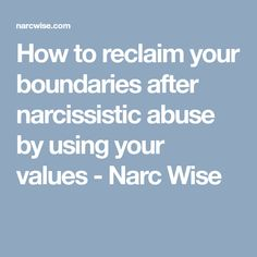 Follow site for lessons learned, wisdom and tips on recovering from narcissistic abuse and codependency. Grow some healthy self-love and inoculate yourself from abusive narcs to find freedom & joy!
