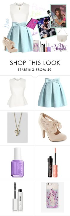 Violetta Style #8 by violetta-leonetta on Polyvore featuring beauty, Benefit, Bobbi Brown Cosmetics, Essie, Skinnydip, Lands' End, Mulberry, Alexander Wang and Chicwish