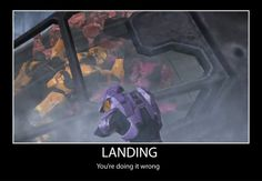 Land? You mean stop flying?