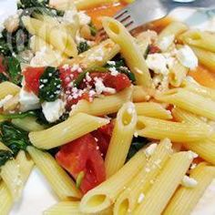 Penne with Tomatoes, Cannellini Beans and Feta @ allrecipes.co.uk