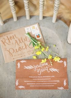 love the #envelope #addressing Grogeous and different, but the address is still simple- ensure that they get where they are going!